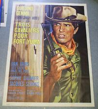 Affiche de cinéma : TROIS CAVALIERS POUR FORT YUMA de Giorgio FERRONI