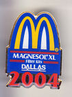 RARE PINS PIN'S .. MC DONALD'S RESTAURANT MAGNESOL FILTER DALLAS 2004 ~15