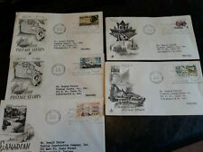 5 First Day Of Issue Stamps & Covers - Canada 1968, 1970