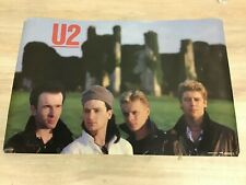 Vintage U2 Poster 1984 Forty Seconds Inc