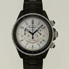 Chanel J12 Superleggera Chronograph Ceramic Watch H2039 Automatic Chrono