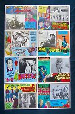 ANTONIO AGUILAR COLLECTION 12 LOBBY CARD PHOTOS ORIGINAL 50s/60s/70s N MINT