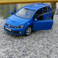 "5"" Volkswagen Golf GTI Alloy Diecast Car Model Toys Car Kids Gift & collect Blue"