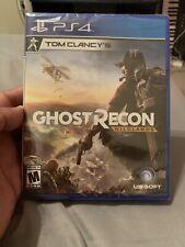 Tom Clancy's Ghost Recon: Wildlands (Sony PlayStation 4, 2017) SEALED!