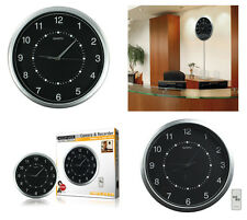 STYLISH WALL CLOCK WITH BUILT IN HIDDEN SECURITY CAMERA & DIGITAL RECORDER DVR