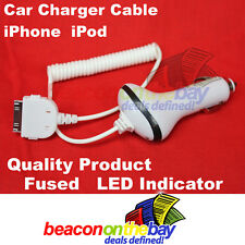 Quality Car Charger for iPod Nano 6 Touch iTouch iPhone 3GS  4 4S 4G