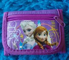 Disney New Frozen Trifold Wallet Elsa and Anna Tri Fold Kids Wallet
