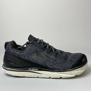 Altra Torin Knit 3.5 AFM1837K-0 Gray Black Running Shoes Men's Size 13