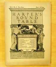 Maxfield Parrish Cover Art Complete HARPER'S ROUND TABLE July 1898 Vol.1.No.9
