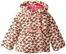 Wippette Little Girls' Faux Fur Animal-Print Jacket, Size 3T
