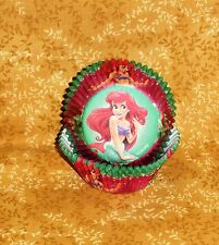Ariel, Little Mermaid Cupcake Papers,Wilton,415-4335,Multi-Color,Bake Cups,Red