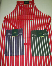 Unbranded Striped 100% Cotton Kitchen Aprons