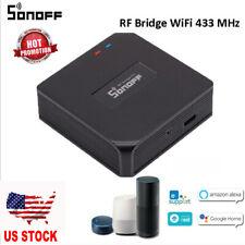 SONOFF RF Bridge ITEAD 433MHz Smart WiFi Switch Module Timing APP Voice Control