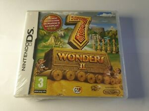 7 Wonders II 2 Nintendo DS Game New & Sealed FREE UK POSTAGE
