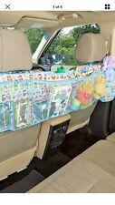 Multi-pockect Storage  Back Owl Car Seat Organizer Holder Accessory Bird Blue