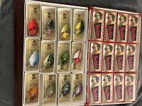 HEDDON PUNKINSEED 1ST 9630 FISHING LURE (12) LURE BOX SET #3