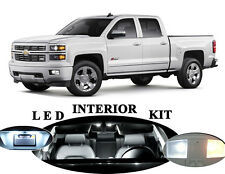 LED Package - Interior + License + Vanity + Reverse for Chevy Silverado (15 Pcs)