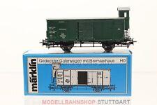 H0 Märklin 4679 Württemberg gedeckter Güterwagen mit Bremserhaus boxcar +OVP/F37