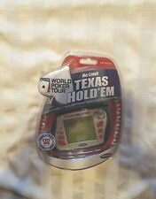 NEW Radica No Limit Texas Hold Em World Poker Tour Big Screen Handheld Game 2005
