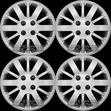 "15"" Set of 4 Chevy Cobalt Aveo G5 Bolt On 4 Lug Hub Caps Full Wheel Covers R15"