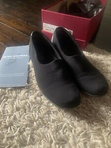 Munro Traveller Black Slip On Stretch Fabric - Size 6.5 - Great Condition, Comfy