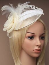 Accesorios blanco sin marca de plumas para cabello de mujer