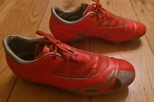 NIKE Boot Football Mercurial Steam V Boots Shoes 354549-851 Size UK 8