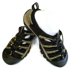 Keen Men's Newport H2 Sandals Size 10.5 Olive Green Black Sport Waterproof Shoes