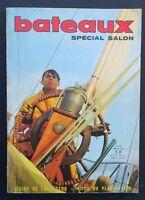 Revue magazine BATEAUX n° 104 janvier 1967 spécial salon