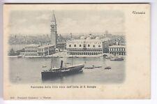 CPA  EUROPE ITALIE - VENISE PANORAMA VUE DEPUIS L' ILE DE SAN GIORGIO 1910 ~C75