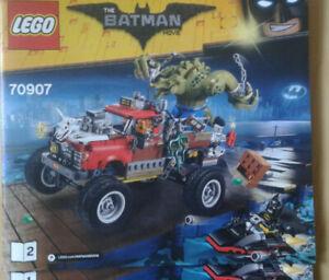 Lego The Batman Movie 70907 Killer Crocs Truck - mit Figuren und Bauanleitung