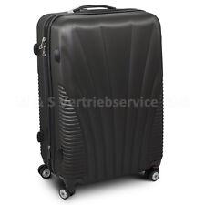 """Trolley Reisekoffer Reisetasche Gepäcktasche Koffer XL Modell """"FUNNEL"""" SCHWARZ"""
