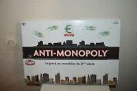 JEU DE SOCIETE  ANTI - MONOPOLY  COMPLET UNIVERSITY GAMES