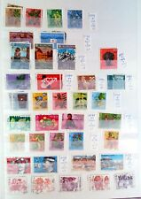 93  timbres SUISSE  - SWISS  stamps - SWITZERLAND  OBLITERE   88M43