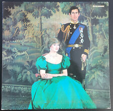 The Royal Wedding Prince Charles Princess Diana Vinyl LP BBC Records