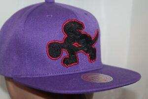 Toronto Raptors Mitchell & Ness NBA Black Pop Snapback,Hat,Cap  NEW