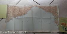 CARTA GEOGRAFICA D ITALIA TCI AL 500000 FOGLIO 5 LIVORNO SPEZIA LIGURIA TOSCANA