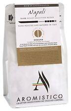 AROMISTICO | Rich Strong Gourmet Dark Roast | Premium GROUND COFFEE | NAPOLI BLE