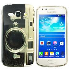 Hülle f Samsung Galaxy Ace 3 S7275 Schutz Case Tasche Silikon Fotoapparat Kamera