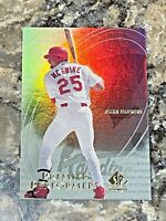 2000 UD SP Authentic Premier Performers Mark McGwire #PP1 St Louis Cardinals