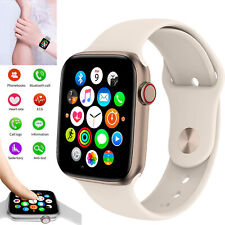 Slim Bluetooth Smart Watch Touch Screen Heart Rate ECG Tracker for iPhone Huawei