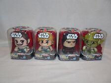 MIGHTY MUGGS Star Wars Lot Rey Jakku Yoda Kylo Ren Luke Skywalker NEW Hasbro