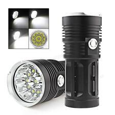 28000LM SKYRAY 11 x CREE XM-L T6 LED Flashlight Torch 4 x 18650 Hunting Lamp