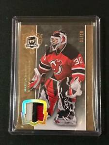 Martin Brodeur 07-08 The Cup BEAUTY Patch Gold Parallel SP 01/10 The First