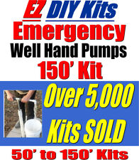 Deep Water Well Hand Pump For EMERGENCY