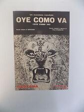 SPARTITO SANTANA OYE COMO VA ED. STAR 1971  - E1