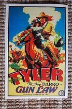 Gun Law Lobby Card Movie Poster Western Tom Tyler Frankie Darro