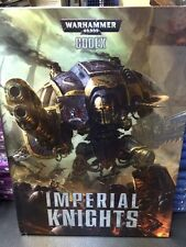 Warhammer 40k Imperial Knights 6th Edition CODEX. New Sealed Free Shipping