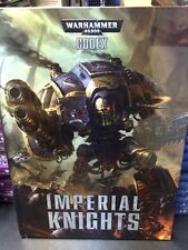Warhammer 40k Imperial Knights 6th Edition CODEX. New Sealed