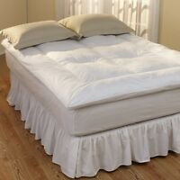 NEW Pacific Coast Feather Restful Nights Preference Down Alternative Fiber Bed